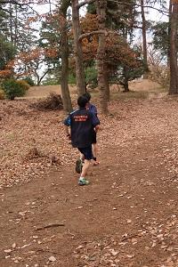 稲荷山公園での練習