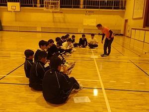 職業別体験学習(スポーツ・健康)