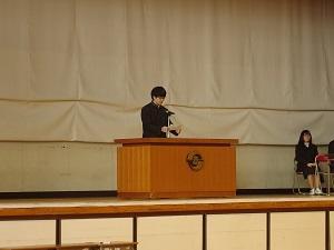 演説の様子
