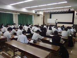 専門学校希望者への説明会