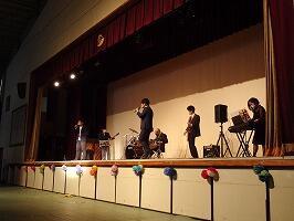 教員バンドステージ